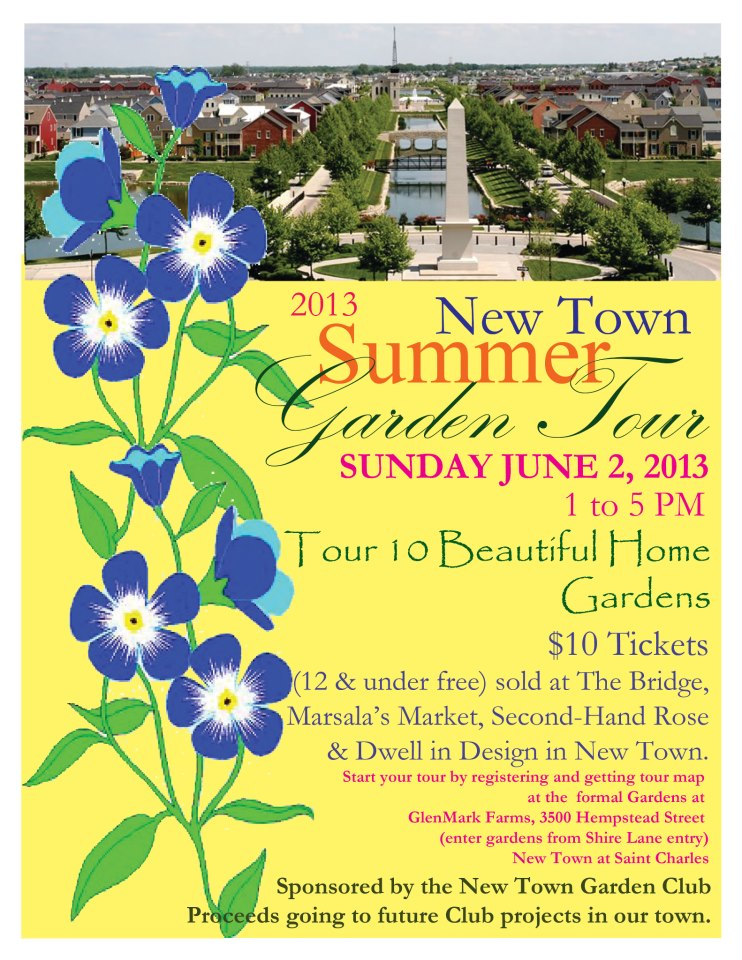 New Town Summer Garden Tour set for June 2